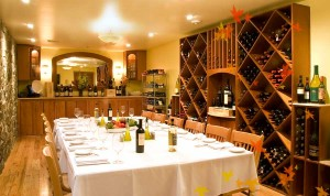 Private Dining in the Wine Cellar Room